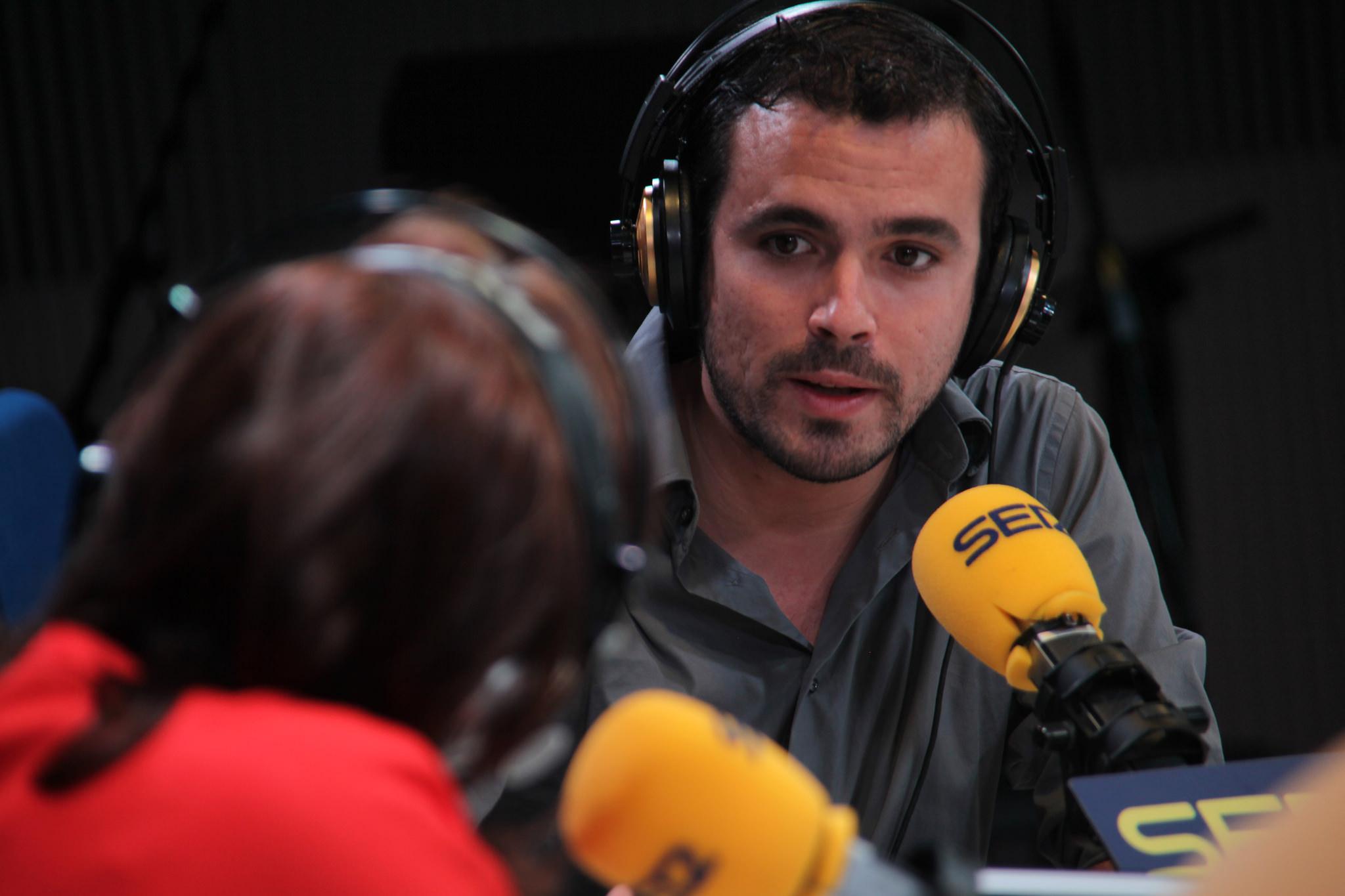 Alberto Garzón en RTVE